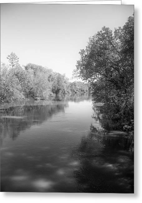Sabine River Near Big Sandy Texas Photograph Fine Art Print 4094 Greeting Card by M K  Miller