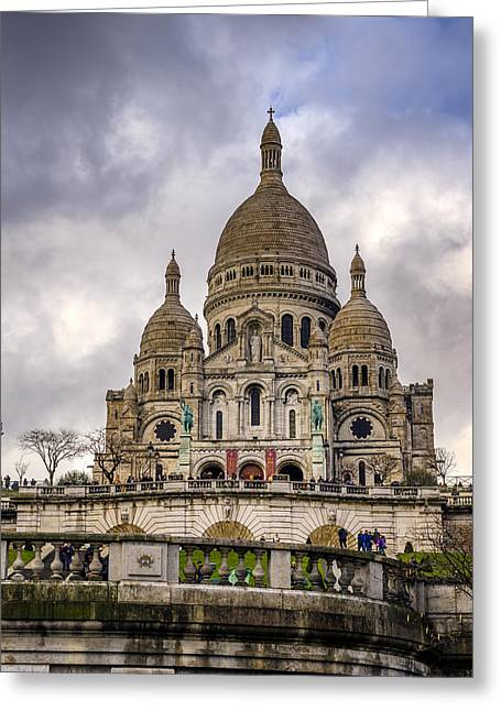 Conservative Greeting Cards - Sacre - Coeur Greeting Card by Pablo Lopez