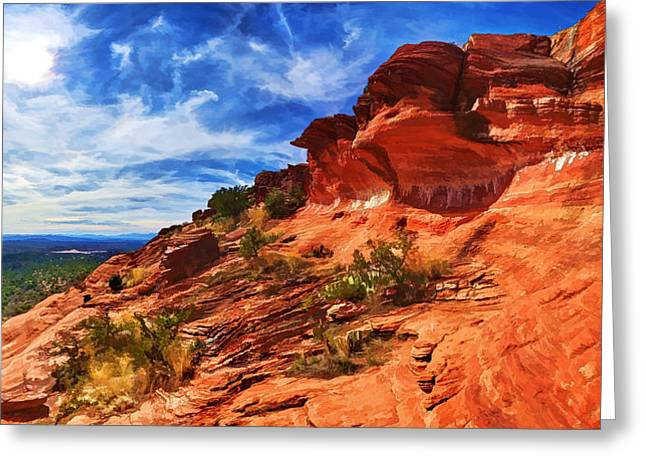 Spirtual Greeting Cards - Sacred Ground - Shamans Dome 1 Greeting Card by Bill Caldwell -        ABeautifulSky Photography