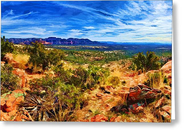 Spirtual Greeting Cards - Sacred Ground - Shamans Dome View Greeting Card by Bill Caldwell -        ABeautifulSky Photography