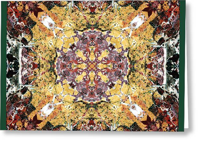 Sacred Geometry Photographs Greeting Cards - Sacred Space Greeting Card by Bell And Todd