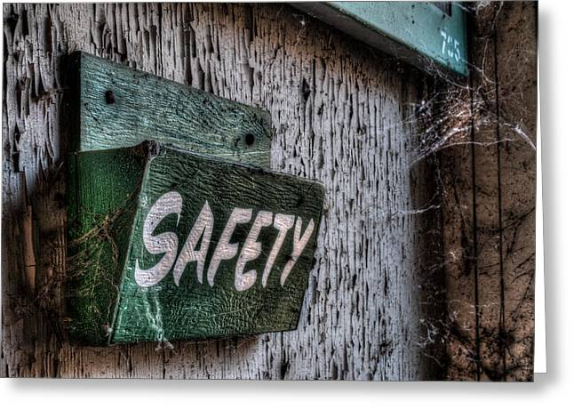Safety Greeting Card by Michael Dugger
