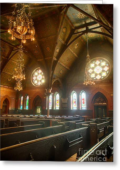 Steffey Greeting Cards - Sage Chapel I Greeting Card by Michele Steffey