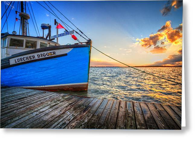 Sail Away Greeting Card by Debra and Dave Vanderlaan