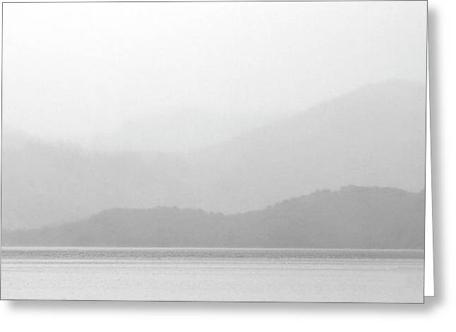 Sailboat Images Digital Greeting Cards - Sailboat on New Zealands Cook Strait Greeting Card by Mark Duffy