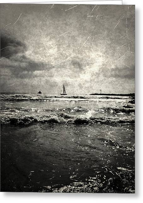 Ventura California Greeting Cards - Sailing Away Greeting Card by Glenn McCarthy