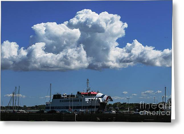 Kim Photographs Greeting Cards - Sailing Clouds Greeting Card by Kim Lessel