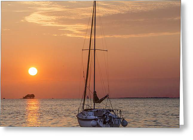 Bill Cannon Photography Greeting Cards - Sailing in Paradise Greeting Card by Bill Cannon