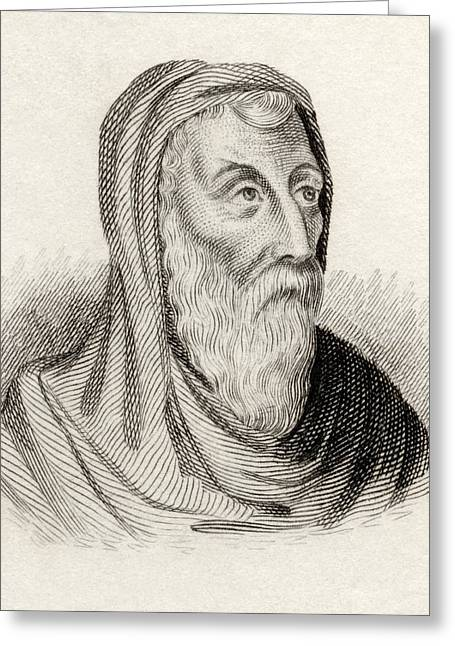 Portraits Of The Pope Greeting Cards - Saint Athanasius Of Alexandria Born Greeting Card by Ken Welsh
