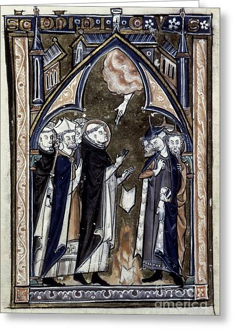 Saint Dominic Greeting Cards - Saint Dominic Greeting Card by Granger