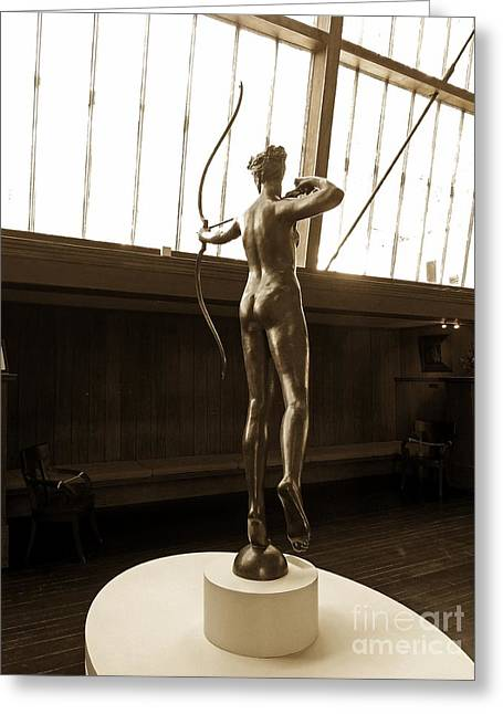 20th Greeting Cards - Saint-Gaudens Diana Greeting Card by Marcia Lee Jones