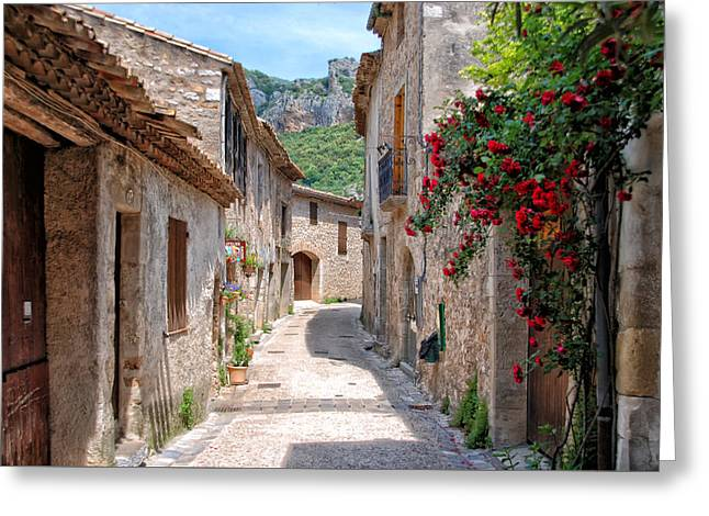Saint-guilhem-le-desert Greeting Card by Joachim G Pinkawa