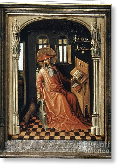 Saint Jerome (340-420) Greeting Card by Granger