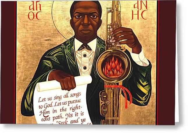 Saint John the Divine Sound Baptist Greeting Card by Mark Dukes