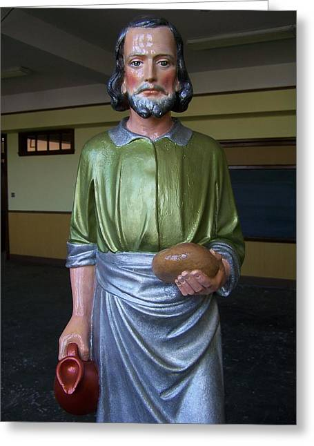 Saint Joseph Greeting Cards - Saint Joseph The Worker Greeting Card by Robert Frederico