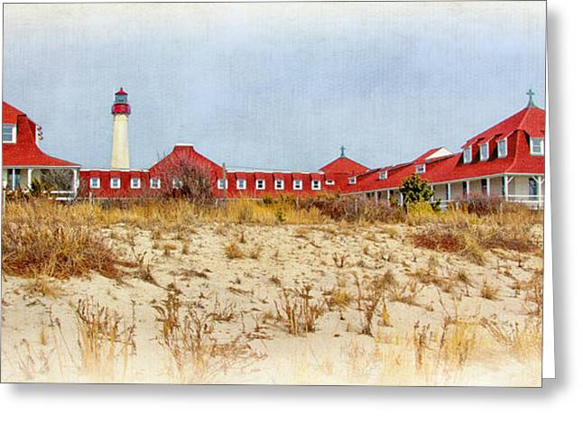 Buildings By The Ocean Photographs Greeting Cards - Saint Mary by-the-Sea Greeting Card by Carolyn Derstine