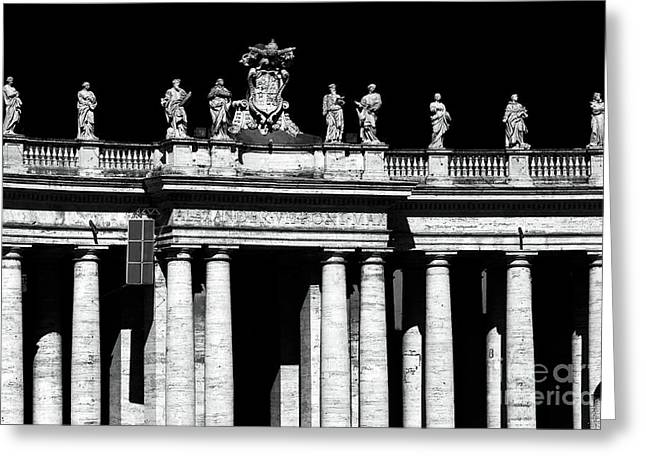 Peter Art Prints Posters Gallery Greeting Cards - Saints Greeting Card by John Rizzuto