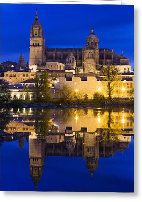 Medieval Temple Greeting Cards - Salamanca Greeting Card by Andre Goncalves