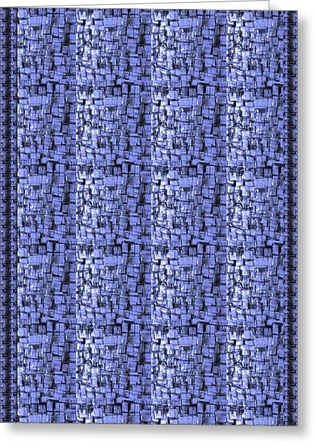 Christmas Greeting Greeting Cards - Sale FineArt Sparkle Blue Hand crafted glass tiles by NavinJoshi at FineArtAmerica.com shower curtai Greeting Card by Navin Joshi