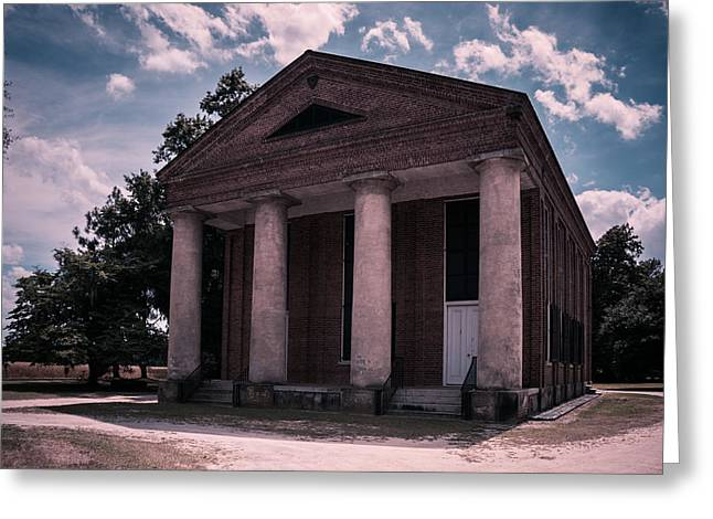 Historic Site Greeting Cards - Salem Black River Church Greeting Card by Alicia Collins