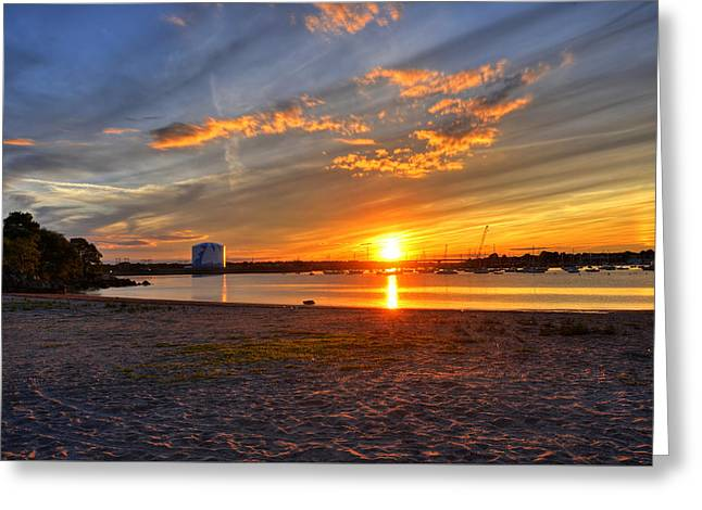 New England Ocean Greeting Cards - Salem Willows Horseneck Beach 2 Greeting Card by Toby McGuire