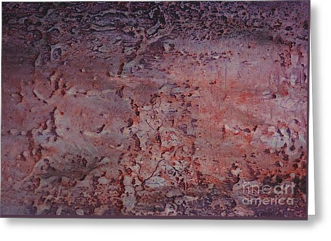 Manacles Greeting Cards - Salmon Stone Greeting Card by Roland Childress