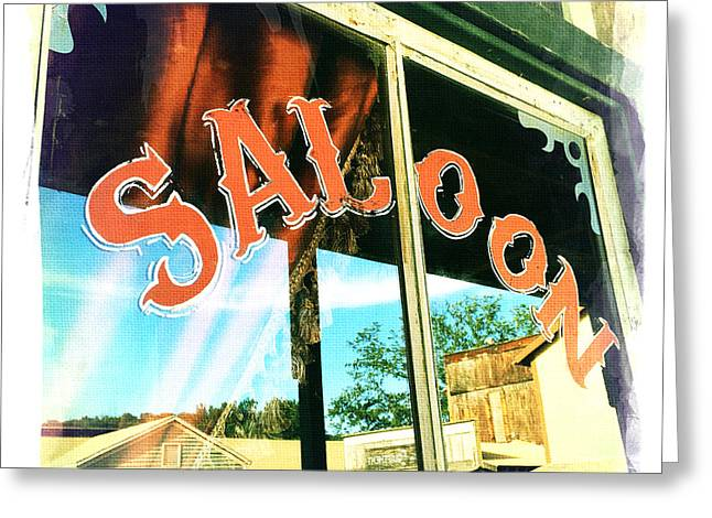 Saloons Greeting Cards - Saloon Greeting Card by Nina Prommer