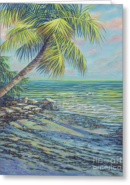 Salty Breeze Greeting Card by Danielle Perry