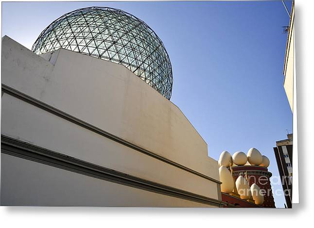 Dali Museum Greeting Cards - Salvador Dali Museum Girona Spain  Greeting Card by Shay Levy