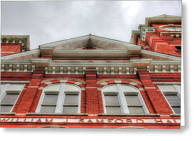 Samford Hall Auburn University  Greeting Card by JC Findley