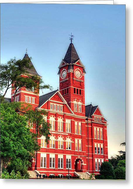 Samford Hall Greeting Card by JC Findley