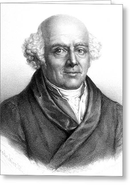 Homeopathist Greeting Cards - Samuel Hahnemann, German Physician Greeting Card by Science Source