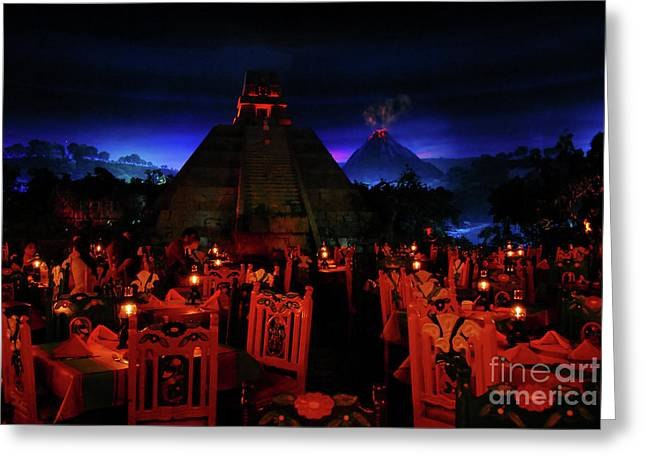San Angel Inn Mexico Greeting Card by David Lee Thompson