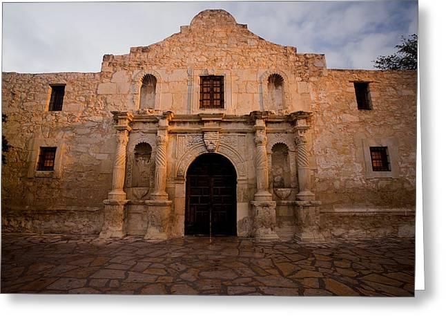 San Antonio Alamo At Sunrise Greeting Card by Samuel Kessler