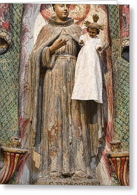 Jesus Christ Icon Greeting Cards - San Antonio Greeting Card by Stephen Stookey