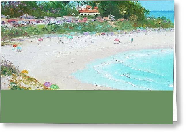 California Beach Greeting Cards - San Clemente Beach California Greeting Card by Jan Matson