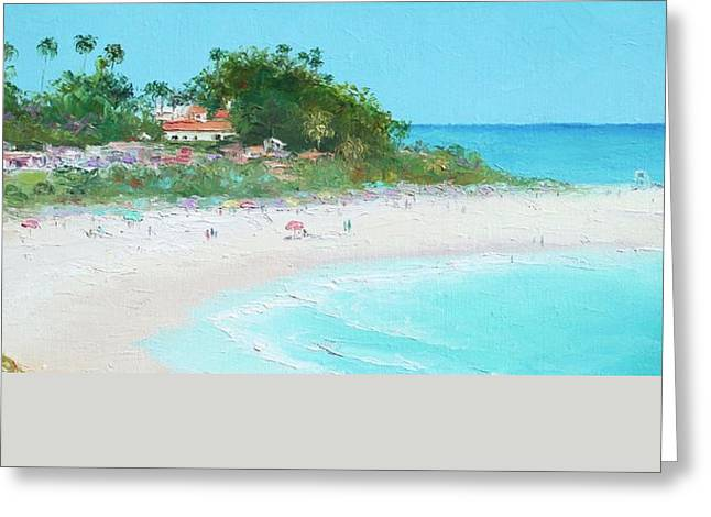 Clemente Greeting Cards - San Clemente Beach Panorama Greeting Card by Jan Matson