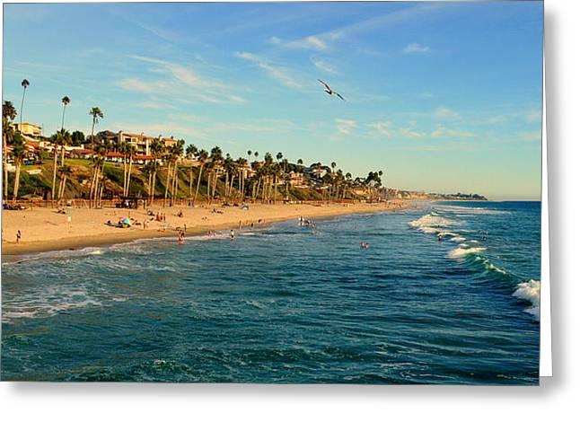 San Clemente Coastline - California Greeting Card by Glenn McCarthy Art and Photography