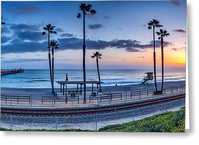 Clemente Greeting Cards - San Clemente in Pano Greeting Card by Peter Tellone