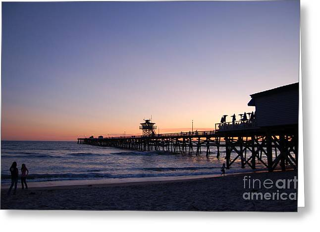 Clemente Greeting Cards - San Clemente Greeting Card by Roland Ciuoderis