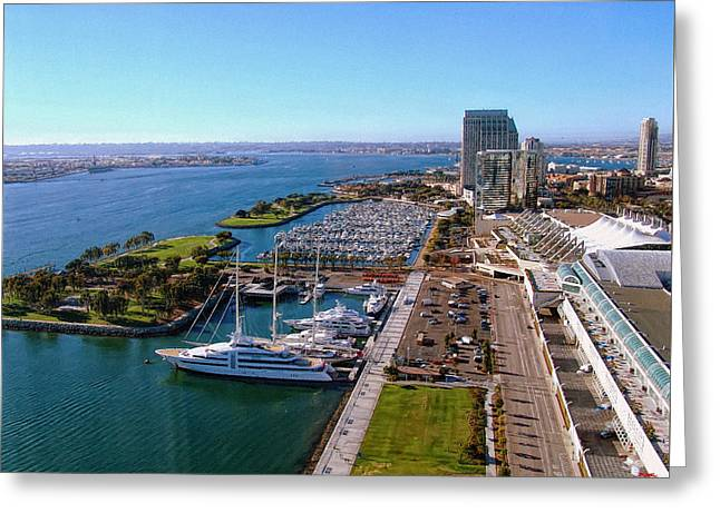 Carrier Greeting Cards - San Diego By Day Greeting Card by Glenn McCarthy Art and Photography