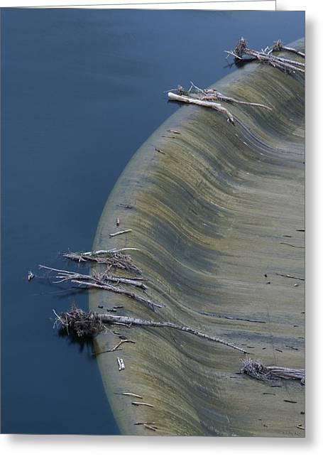 San Felicia Dam - Lake Piru Greeting Card by Soli Deo Gloria Wilderness And Wildlife Photography