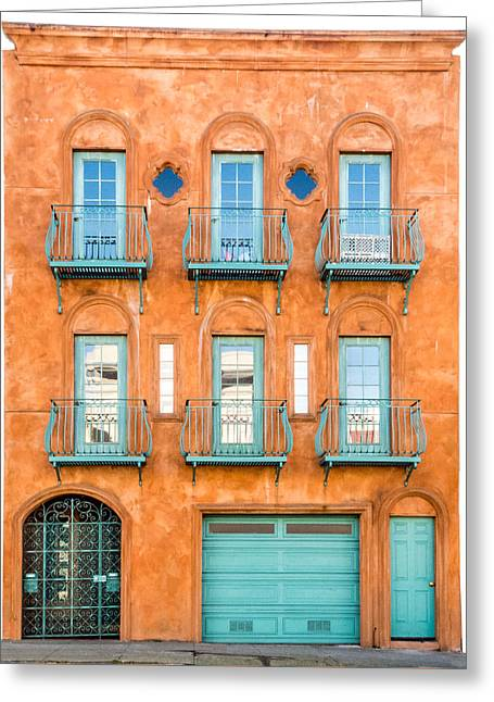 Entrance Door Greeting Cards - San Francisco Architecture 1 Greeting Card by Patti Deters