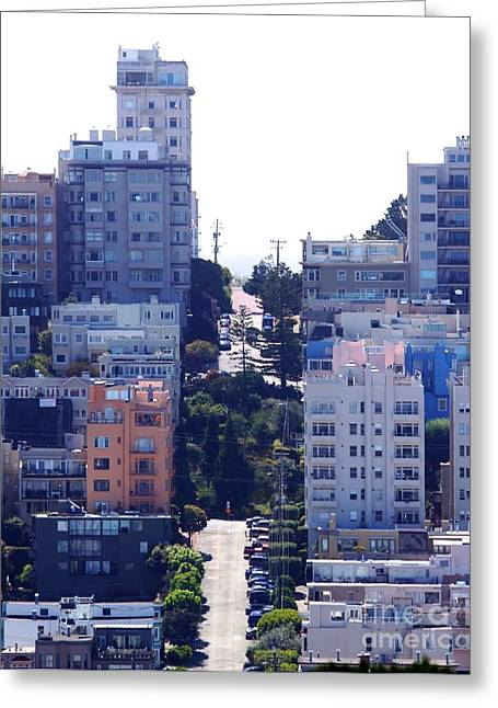 Residential Structure Greeting Cards - San Francisco Greeting Card by Henrik Lehnerer