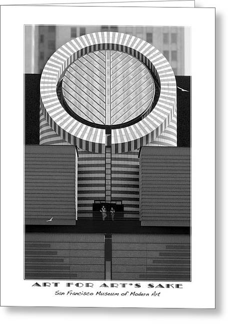 San Francisco Museum Of Modern Art Greeting Card by Mike McGlothlen