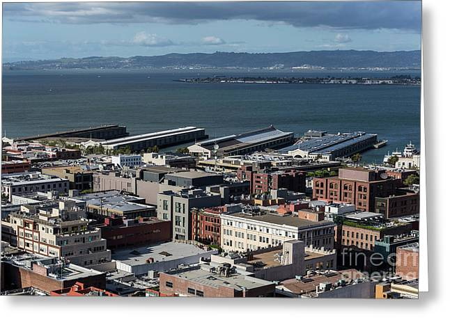 San Francisco Waterfront Greeting Card by Trekkerimages Photography