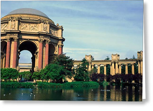 San Franciscos Exploratorium Greeting Card by Panoramic Images