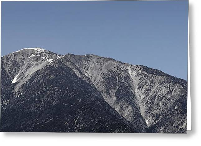 Angeles Forest Greeting Cards - San Gabriel Mountains Greeting Card by Viktor Savchenko