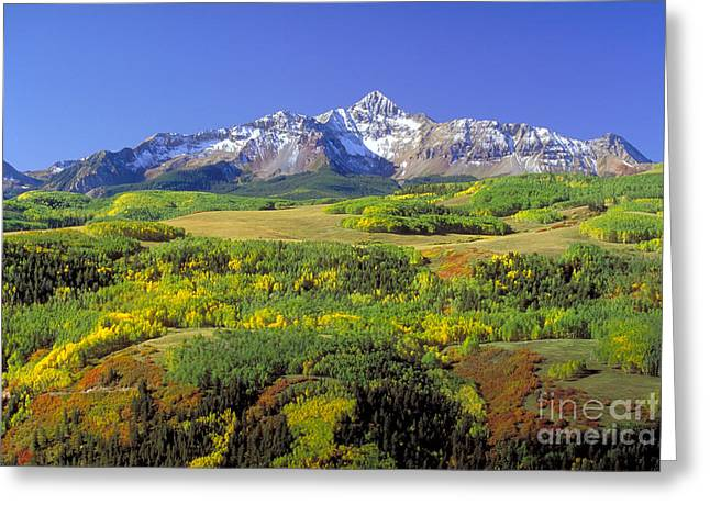 San Juan Mountains In Telluride, Co Greeting Card by Jim Steinberg
