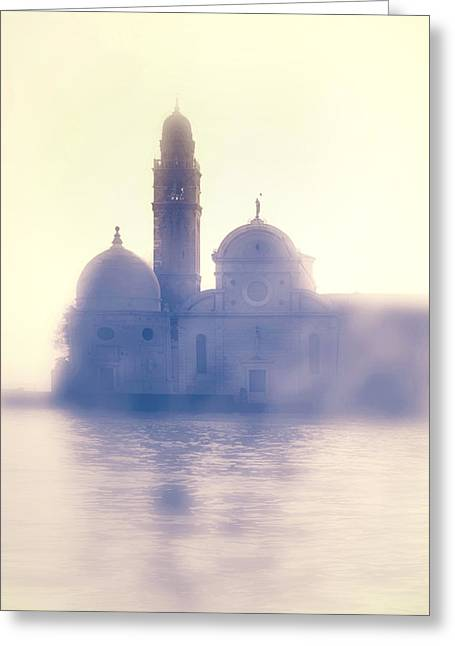 Water Tower Greeting Cards - San Michele Greeting Card by Joana Kruse